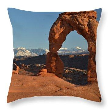 Lasals Framed Throw Pillow