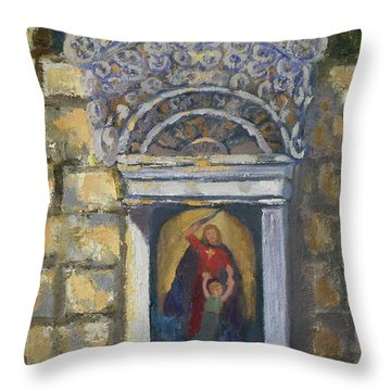 l'Ascensione Throw Pillow