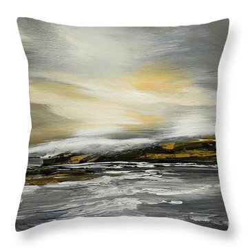 Lashed To Windward Throw Pillow