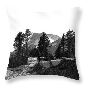 Throw Pillow featuring the photograph Lassen National Park by Lori Seaman