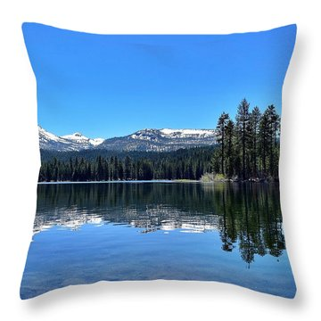 Lassen Volcanic National Park Throw Pillow