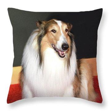 Lassie Throw Pillow