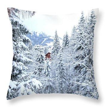 Last Cabin Standing- Throw Pillow