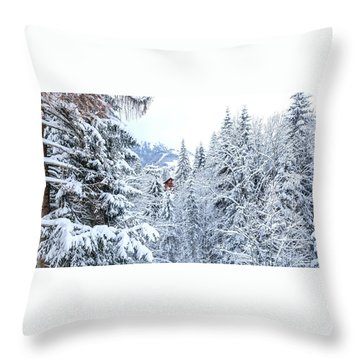 Last Cabin Standing- Throw Pillow