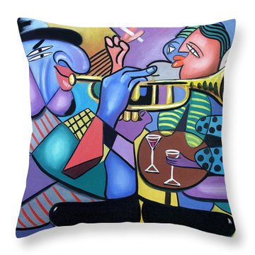 Last Call Throw Pillow by Anthony Falbo