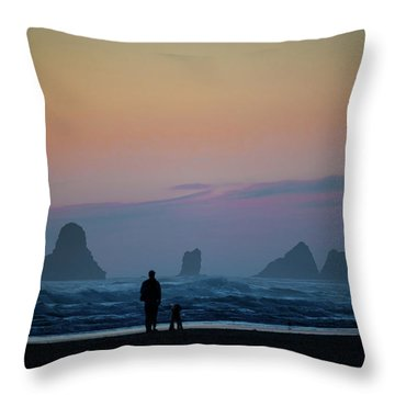 Last Colors Throw Pillow