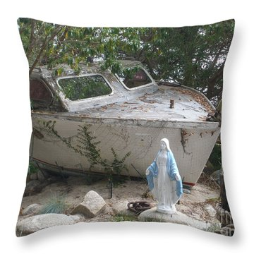 Last Cruise Throw Pillow