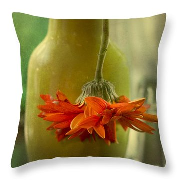 Last Daisy Throw Pillow