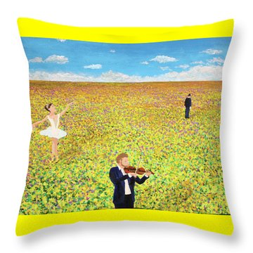 Last Dance Throw Pillow