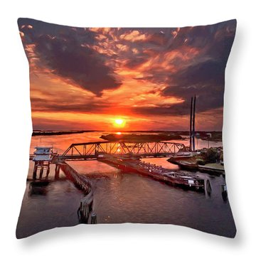 Last Days Throw Pillow
