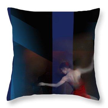 Last Flamenco Throw Pillow