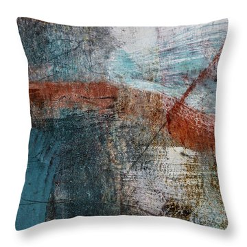 Last For A While Throw Pillow