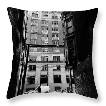 Last Jacket  Throw Pillow by Empty Wall