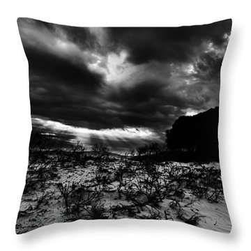 Throw Pillow featuring the photograph Last by Julian Cook