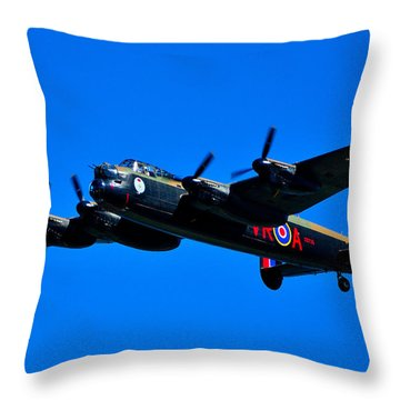 Last Lancaster Throw Pillow