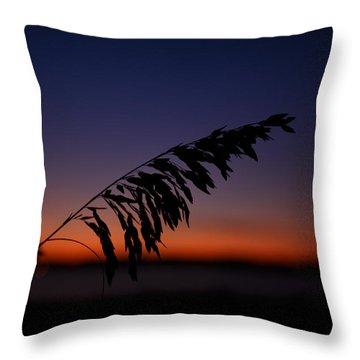 last light at Hilton Head Island Throw Pillow