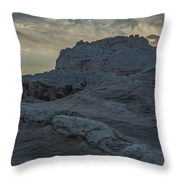 Last Light At White Pocket Throw Pillow