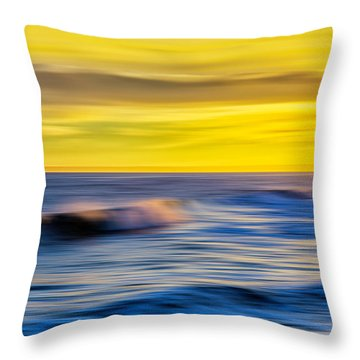 Last Light Revisited Throw Pillow