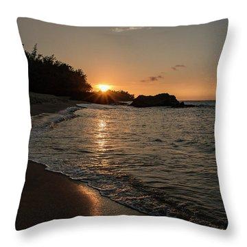 Last Light Throw Pillow