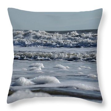 Last Look Of The Season Throw Pillow by Greg Graham