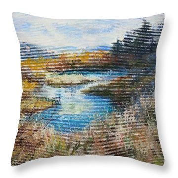 Last Of Summer Throw Pillow