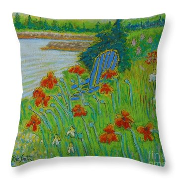 Last Of Thepoppies Throw Pillow
