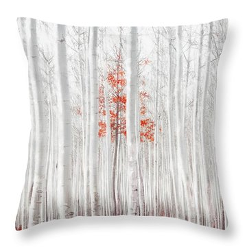 Last Of Its Kind Throw Pillow