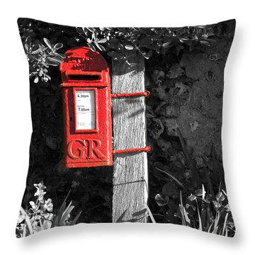 Last Post 4.30 Throw Pillow