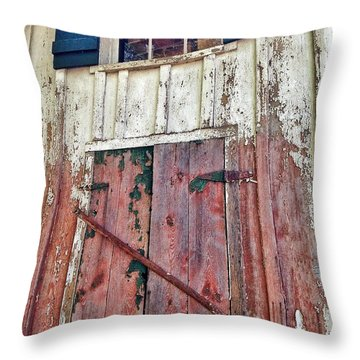 Throw Pillow featuring the photograph Last Train Gone by Olivier Calas