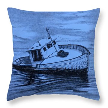 Last Voyage  Throw Pillow