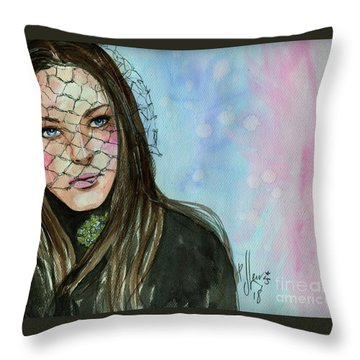 Last War Widow Throw Pillow