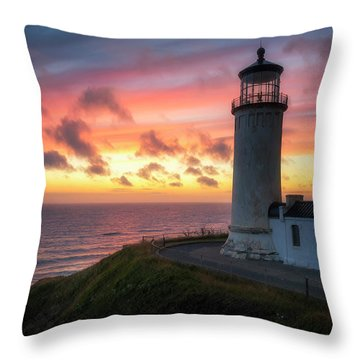 Lasting Light Throw Pillow by Ryan Manuel