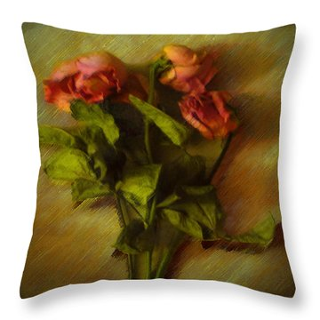 Lasting Love Throw Pillow by Cedric Hampton