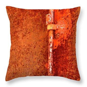 Latch 4 Throw Pillow