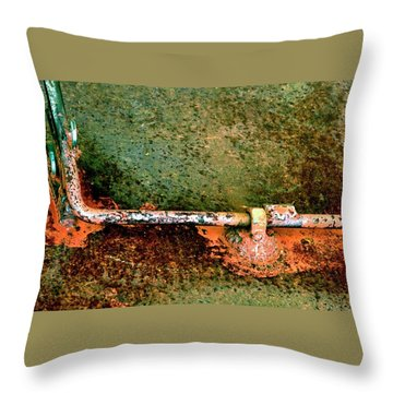 Latch 5 Throw Pillow