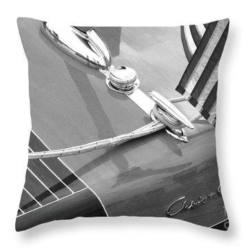 Late 1940's Chris Craft Custom Throw Pillow