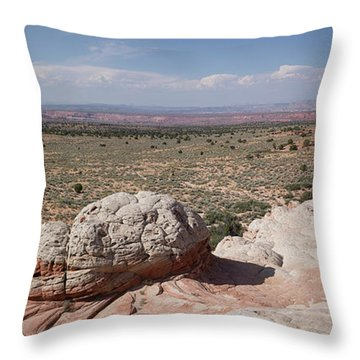 Late Afternoon At White Pocket Throw Pillow