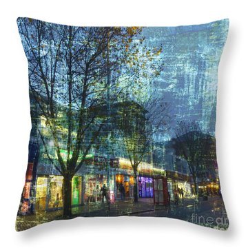 Late Afternoon In Autumn Throw Pillow