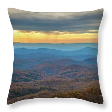 Late Autumn Vista Throw Pillow