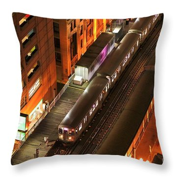 Late Commute Throw Pillow