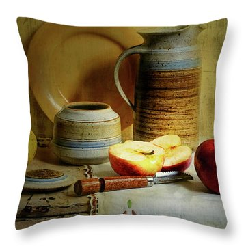 Throw Pillow featuring the photograph Late Day Break by Diana Angstadt
