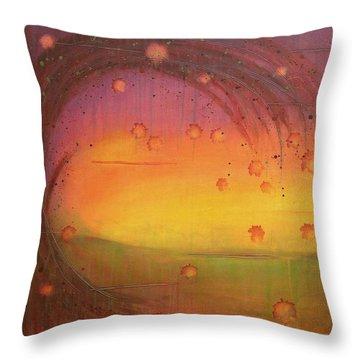 Late Fall - Tree Series Throw Pillow