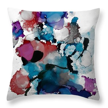Late Night Magic Throw Pillow by Alika Kumar