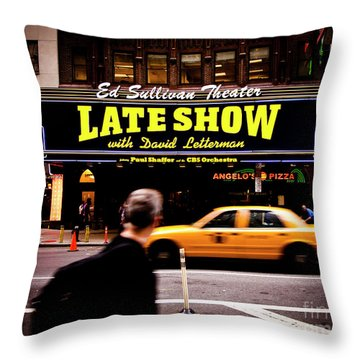 Late Show Throw Pillow