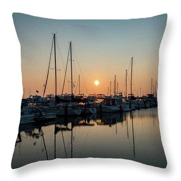 Late Summer Calm Throw Pillow