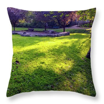 Late Summer Light Throw Pillow
