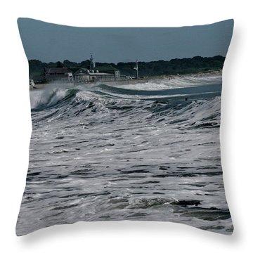 Late Summer Storm Throw Pillow