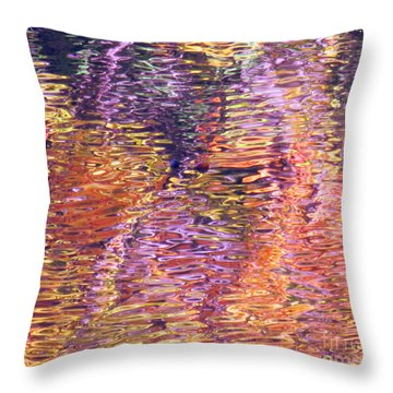 Laughter In Color Throw Pillow
