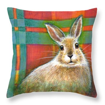 Laughter Throw Pillow by Retta Stephenson