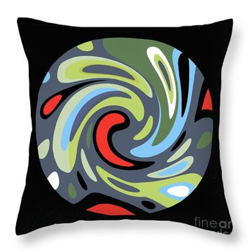 Laundry Cycle Throw Pillow